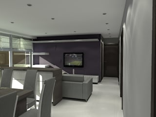 Modern style media rooms by Arq. Jacobo Smeke Modern