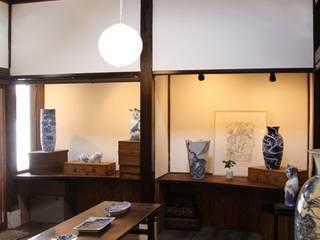神ノ前アトリエ 和風デザインの 多目的室 の 田中博昭建築設計室 和風