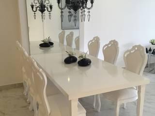 Столовые комнаты в . Автор – DECO Designers,