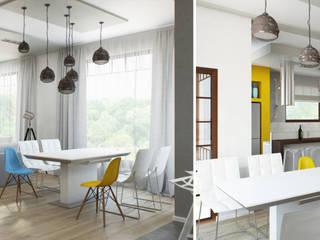 Cocinas de estilo minimalista de Center of interior design Minimalista