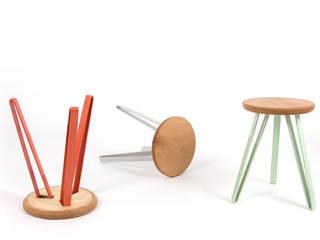 Hocker - Runde lucasfaber WohnzimmerHocker und Stühle