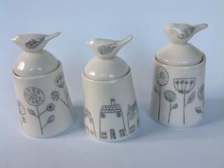 Lidded pots:   by Alrightmybird