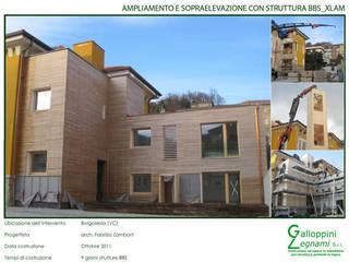 Casa di Legno: Complessi per uffici in stile  di Galloppini Legnami