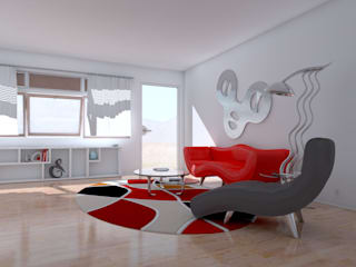 Living room by Dekorasyon Şirketi, Modern