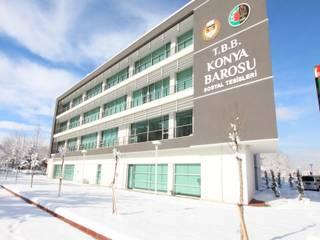 MTK Architects-Consultants – Konya Barosu İdari ve Sosyal Tesisi:  tarz Ofis Alanları