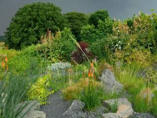 Steingarten: moderner Garten von Crämer & Wollweber Garten- und Landschaftsbau GmbH