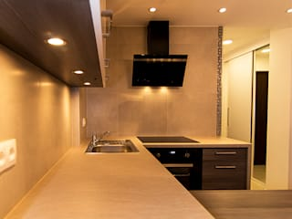 Cozinhas minimalistas por studio wnętrz URBAN-DESIGN Minimalista