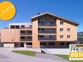 Hotel Hubertus in Mellau/Vorarlberg, AT:  Hotels von BAU.GENIAL
