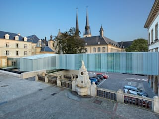 Escritórios  por STEINMETZDEMEYER architectes urbanistes