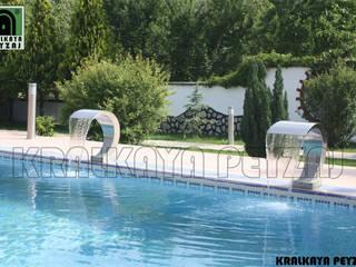 Kralkaya Peyzaj Havuz Fıskiye Sist. ve Pompa Mim. Müh. İnş. Ltd. Şti Mediterranean style garden