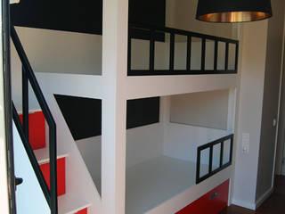 Litera a medida Escalera Lateral | Habitación Infantil | Vallromanes| Christian de Fusteriamanel.com Moderno