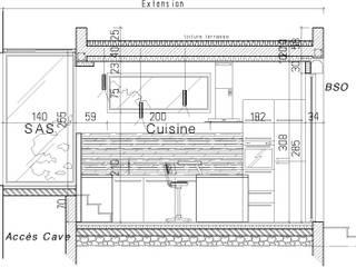Extension cuisine. PRESTIGE ET MODERNITE: Cuisine de style  par Florie Vaujour