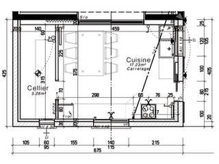 extension cuisine et salle de musique. DES NOTES EN BOUCHE ET AUX OREILLES: Cuisine de style  par Florie Vaujour