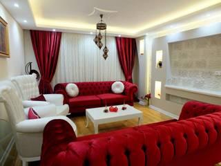 Salas de estar modernas por Dİ-AR İÇ MİMARLIK Moderno
