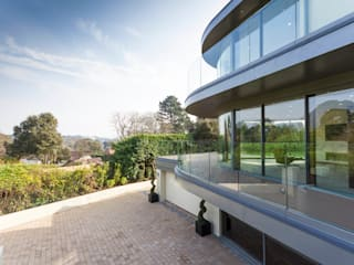 Ventura Casas modernas de David James Architects & Partners Ltd Moderno