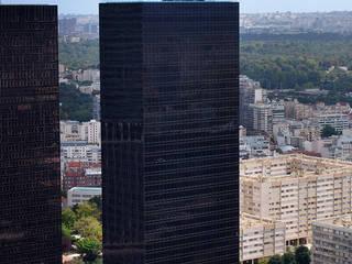 Tour Winthertour Espaces de bureaux modernes par Groupe H Moderne