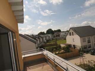 Varandas, marquises e terraços minimalistas por Gritzmann Architekten Minimalista