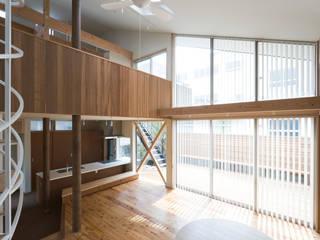 松本剛建築研究室 Living room
