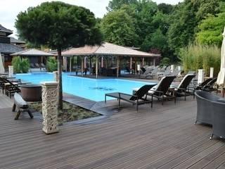 Bamboe buiten vloeren:  Hotels door Eco-Logisch
