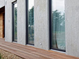 Drewniane deski tarasowe: styl , w kategorii Taras zaprojektowany przez Kopp