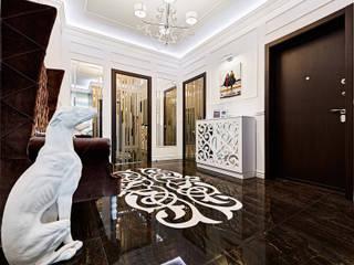 Modern corridor, hallway & stairs by ELIZABETH STUDIO DESIGN Modern