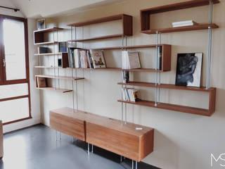 """Bibliothèque """"C"""" profil droit:  de style  par Marie SiudaK SARL"""