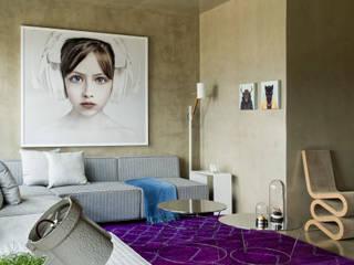 DIEGO REVOLLO ARQUITETURA S/S LTDA. 现代客厅設計點子、靈感 & 圖片
