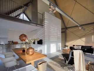Blok Kats van Veen Architecten 现代客厅設計點子、靈感 & 圖片