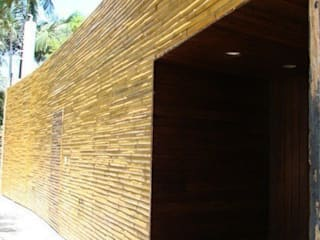 BAMBU CARBONO ZERO Minimalist walls & floors