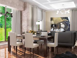 Квартира: Столовые комнаты в . Автор – Студия Аксаны Ситниковой,