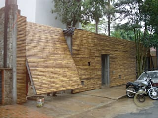 BAMBU CARBONO ZERO Minimal style window and door