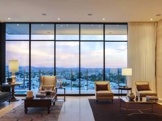 CASA MAR Salas modernas de Imativa Arquitectos Moderno