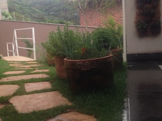 Rustic style garden by Rizck Paisagismo Rustic