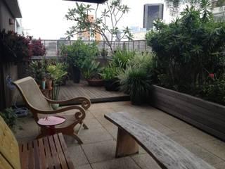 Balcones y terrazas de estilo rústico de Rizck Paisagismo Rústico