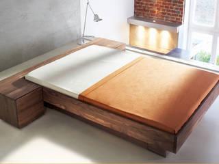 Massivholzmöbel / Kollektionen für ZACK Design ideenfischa Produktdesign SchlafzimmerBetten und Kopfteile