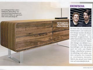 Massivholzmöbel / Kollektionen für ZACK Design ideenfischa Produktdesign WohnzimmerSchränke und Sideboards