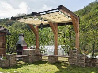 Jardines de estilo rústico de Federico Vota design Rústico