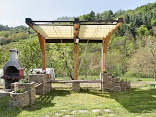 Rustic style gardens by Federico Vota design Rustic