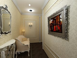 ISDesign group s.r.o. Classic style corridor, hallway and stairs