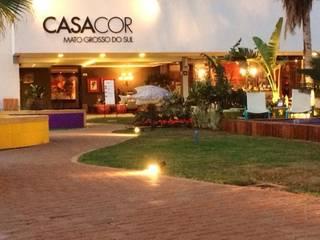 Jardim das Cores - Casa Cor MS 2014 Jardins modernos por Adines Ferreira Paisagismo Moderno