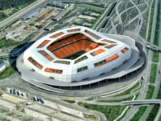 Stadions door Lenz Architects