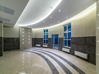 """ЖК """"Платинум"""" Коридор, прихожая и лестница в классическом стиле от Belimov-Gushchin Andrey Классический"""