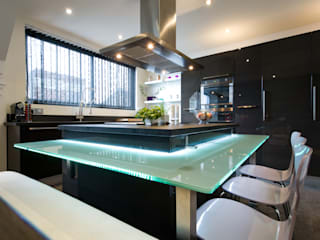 cuisine moderne chic Cuisine moderne par LA CUISINE DANS LE BAIN SK CONCEPT Moderne