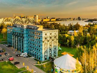 """Бизнес-парк """"Полюстрово"""" Офисы и магазины в стиле лофт от Belimov-Gushchin Andrey Лофт"""