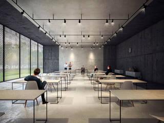 UNIVERSITY CAMPUS / ASTANA Lenz Architects Школы в стиле минимализм