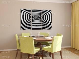 Quadri in bianco e nero BIMAGO.it Sala da pranzoAccessori & Decorazioni