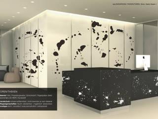 Oberflächendekoration von tela-design tela-design Moderne Praxen