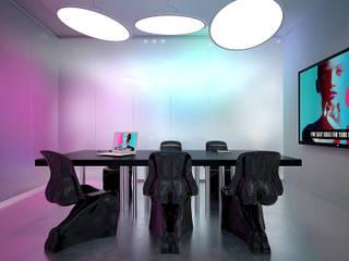 Студия креативного агенства БЦ Манхеттен. г.Екатеринбург Dmitriy Khanin Рабочий кабинет в стиле минимализм