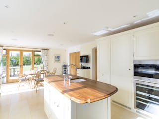 Guildford painted kitchen designed and made by Tim Wood by Tim Wood Limited Country