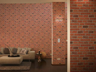 Brick Wallpaper de I Want Wallpaper Moderno